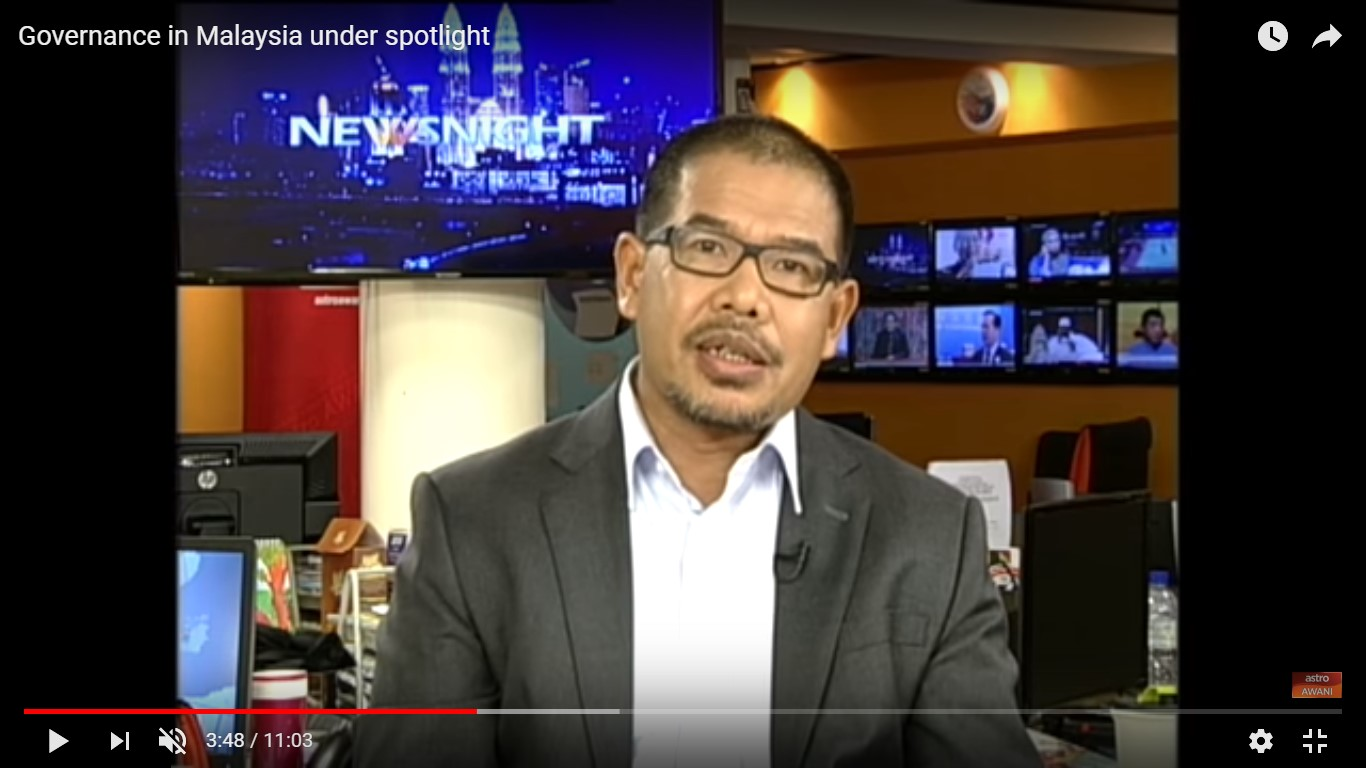 Astro Awani To Discuss Governance in Malaysia with Nik Hasyudeen Yusoff